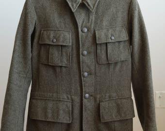 Swedish 1940s style Military Tunic - 38'' / Medium