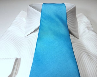 Light MALIBU Blue Tie (3 inch or 2 inch width)