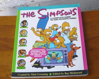 Vintage The Simpsons A Complete Guide to Our Favorite Family TV Show