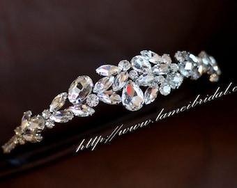 Bridal Rhinestone Headband, Bridal Headpiece, Formal Wear, Wedding Tiara,bridal wedding hair accessories, wedding headband headpiece