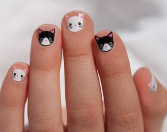 Mini Kitty Love Nail Wraps
