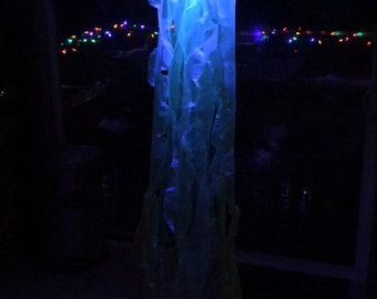 Jellyfish light decor lantern lamp remote controlled Coloring changing light up Prom Wedding Dance floor lights