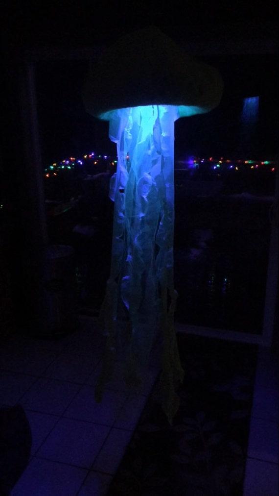 Jellyfish String Lights : Jellyfish light decor lantern lamp remote controlled Coloring