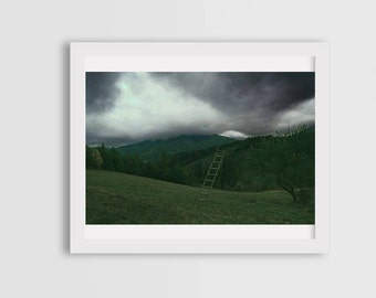 surreal photography, mystic photography, eerie photography, photo prints, storm photos, photo of mountains, canvas photo prints, wall art