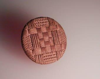 Antique Silk  Woven Button pad back