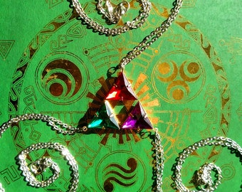 Legend of Zelda-Inspired Triforce Friendship Necklace Combo