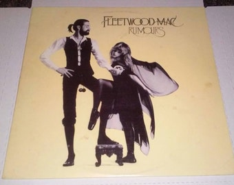Fleetwood Mac 1977 Rumours Record VG+ Free Shipping