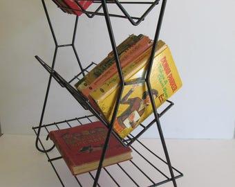 Book Trough, Metal Book Trough, Book Shelves, Book Shelf, Mid Century Book Trough, Mid Century Book Shelves, Mid Century Furniture, Shelves