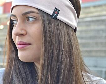 Yoga Headband,  Workout Headband,  Running Headbands, Fitness Headbands, Fashion Headbands,  Women Head Wrap, Wide Headband, Blush Headband