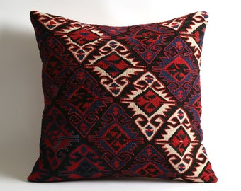 kilim pillow 20x20 turkish pillow kilim pillow cover kilim pillows bohemian pillow decorative pillows throw vintage pillow