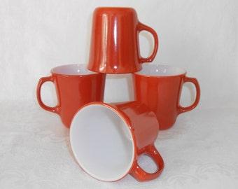 Pyrex by Corning Rust Mugs  4