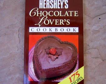 Hershey's Chocolate Lover's Cookbook, 1993 Hershey Foods Cook Book