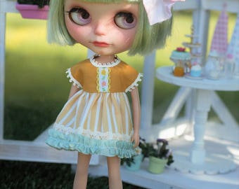 "Blythe Dress ""Lemon drop"""