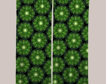 Glow Curtain (1 Panel, 8 Colors)  // Psychedelic Men and Womens Festival Clothing, Accessories & Decor by Samuel Farrand