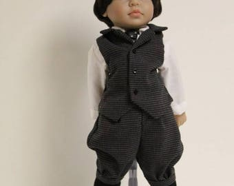 Victorian Boy Doll Outfit for 18 inch dolls