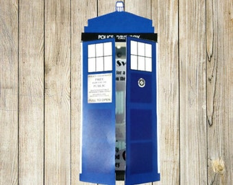 Doctor Who Tardis Invitation (Editable)