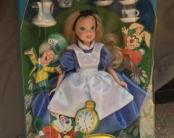 Vintage Collectable Disney Alice in Wonderland Doll
