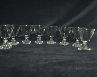 Candlewick Cordial / Juice Glasses