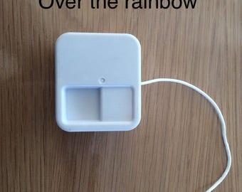 "Musical mechanism to string ""Over the rainbow"" / music/baby music box box"