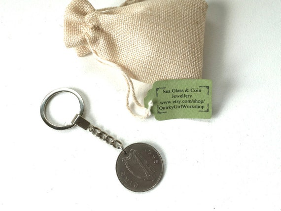 22nd Wedding Anniversary Gift Ideas: 22nd Birthday Gift Gift For Him Irish Coin Keychain Rare