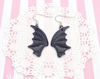Kawaii Bat Wing Earrings