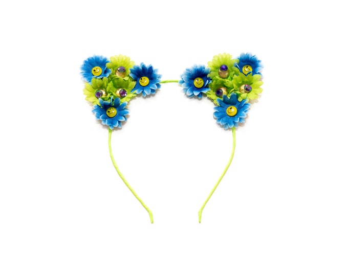 Emoji Cat Ear Headband