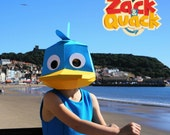 Zack and Quack - Build the offical Low-Poly Quack Mask