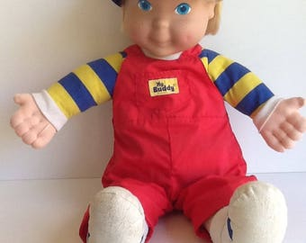 Vintage Playskool Blond MY BUDDY Doll