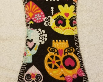 Cloth Pad/8 Inches Long/Light Flow/ No Wings