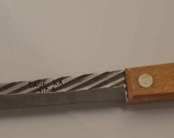 Vintage Old Forge Case XX 417-6 Carbon Steel Kitchen Knife/Antique Case xx Old Forge Kitchen Knife/Carbon Steel Case XX/Case XX Chef Knife