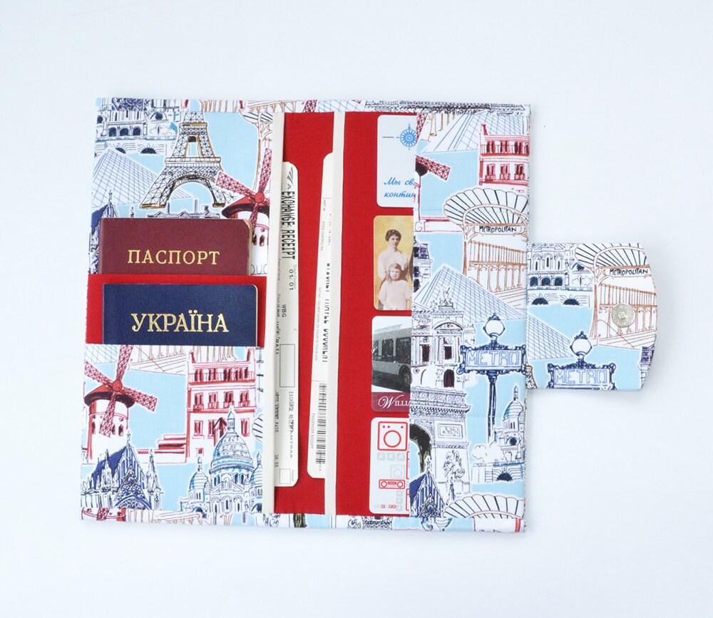 Travel wallet family travel holder travel document for Family travel document organizer