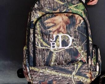 Woods Boys Monogrammed Backpack   Monogrammed Gym Bag   Monogrammed Travel Bag   Monogrammed Camo/Woods Bag   Monogram School Bag