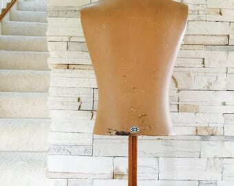 Korrect-Way Tabletop Bust Mannaquin 1930's
