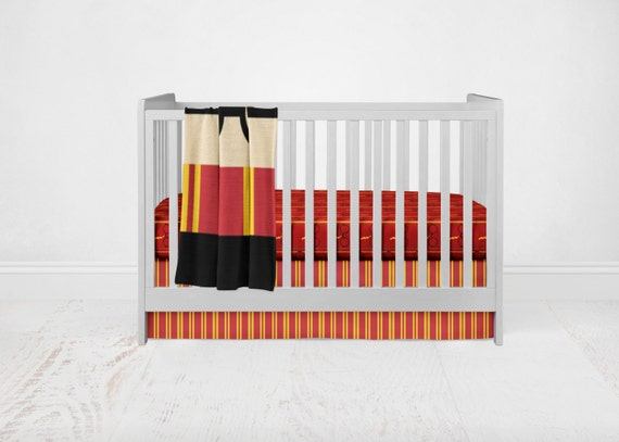 Harry potter bedding set baby bedding hp bedding 3 piece - Harry potter crib set ...