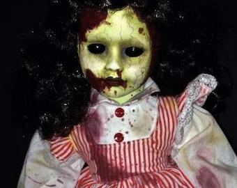OOAK Creepy Horror Doll