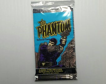 1 Pack The Phantom Comic Book Trading Cards Packs 1995 wax pack The Ghost Who Walks RARE DC