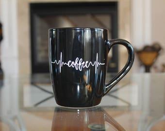 Coffee Heartbeat Mug