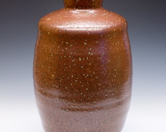 Salt Fired High-Iron Stoneware Vase, 0404002