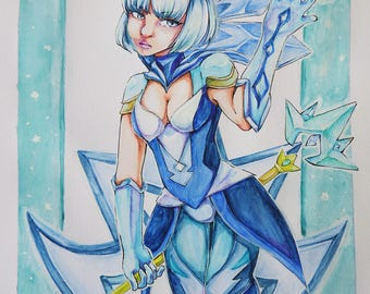 Lux - Ice Form {Watercolor}