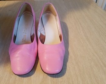 Vintage Pink Pumps from Miss America  Size 8