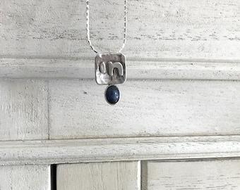 Silver Chai Necklace, Silver CHAI pendant, Jewish jewelry , Hebrew Hai  Pendant , Bat/Bar Mitzvah Gift