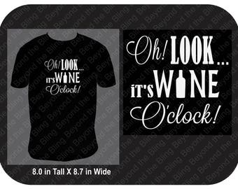 Wine o'clock shirt It's wine o'clock somewhere shirt wine lovers shirt wine drinkers shirt wine o'clock time shirt wine lovers gift shirt