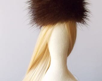 PDF tutorial for sewing artificial hair on Tilda doll  - Accessories for doll- DIY tutorial