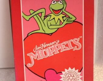 Vintage American Greetings Jim Henson's Muppets Valentines