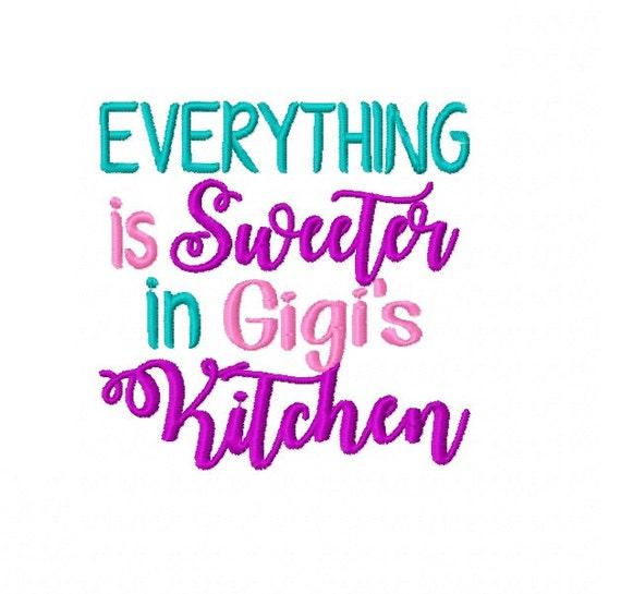 Everything Is Sweeter In Gigi's Kitchen Machine