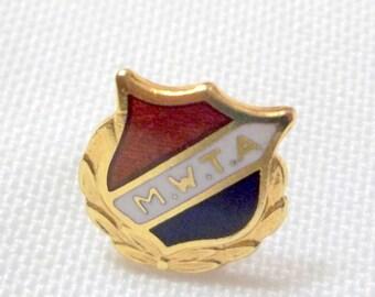 Vintage Lapel Pin - M.W.T.A.