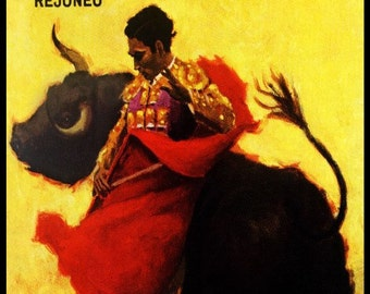 "Bullfighting - Plaza De Toros De Madrid #7 Canvas Art Poster 12""x 24"""