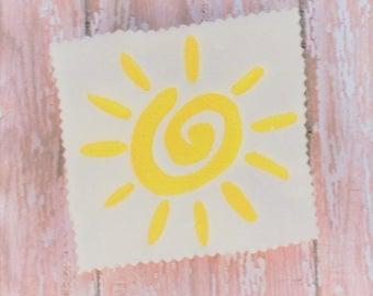 Sun Embroidery Design - Machine Embroidery Pattern - Machine Embroidery Design - Embroidery Download - Embroidery Machine Design