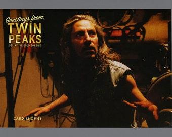 Twin Peaks Gold Box Postcard Card # 12 of 61 Mike Bob