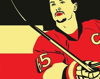 Ottawa Senators A3 print